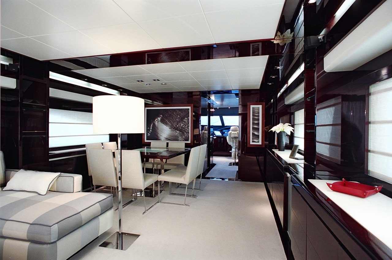Amer Yacht Amer 86 Lady Federica SALA-DA-PRANZO-DINING-ROOM5