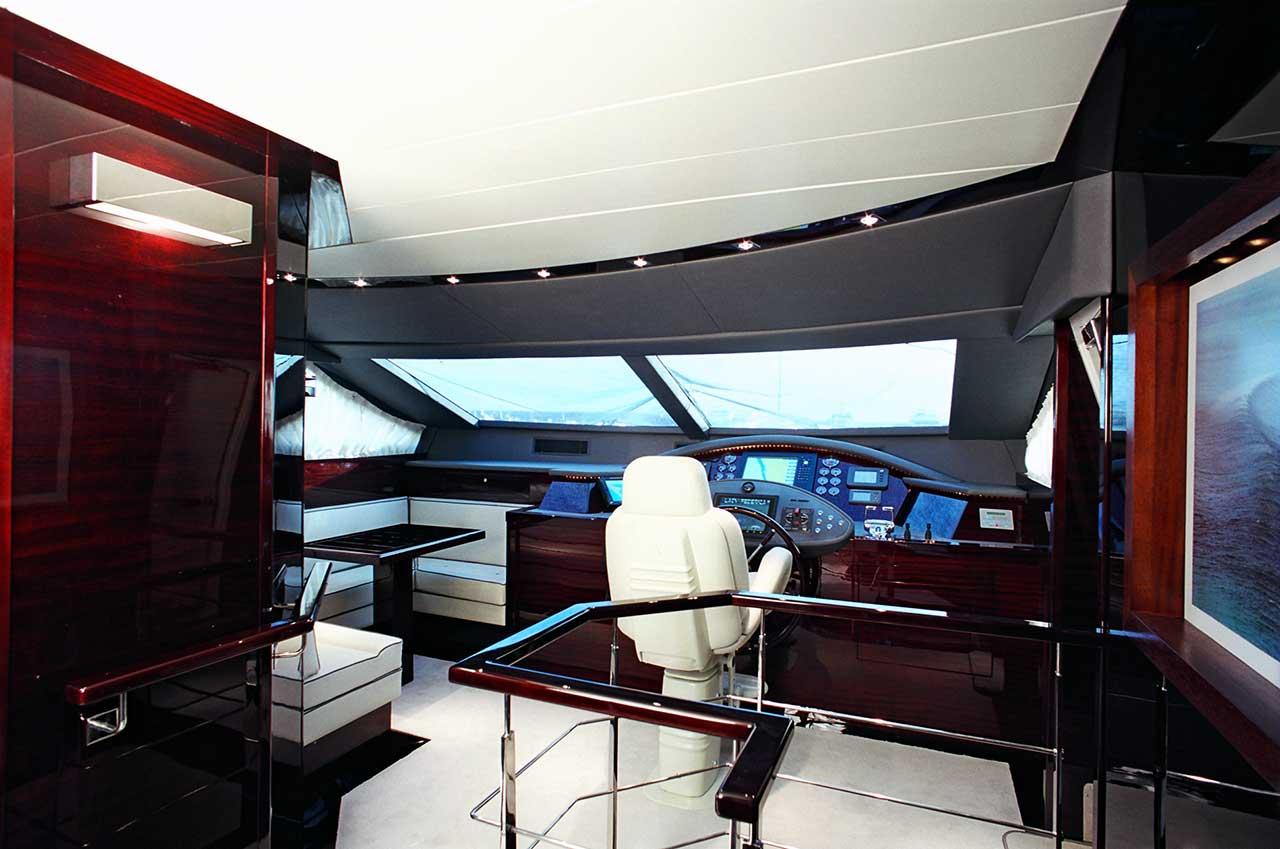 Amer Yacht Amer 86 Lady Federica TIMONERIA-WHEELHOUSE6