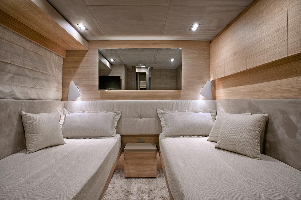 Amer Yacht, Amer 92, Amer-ica CABINA-OSPITI-GUEST-CABIN