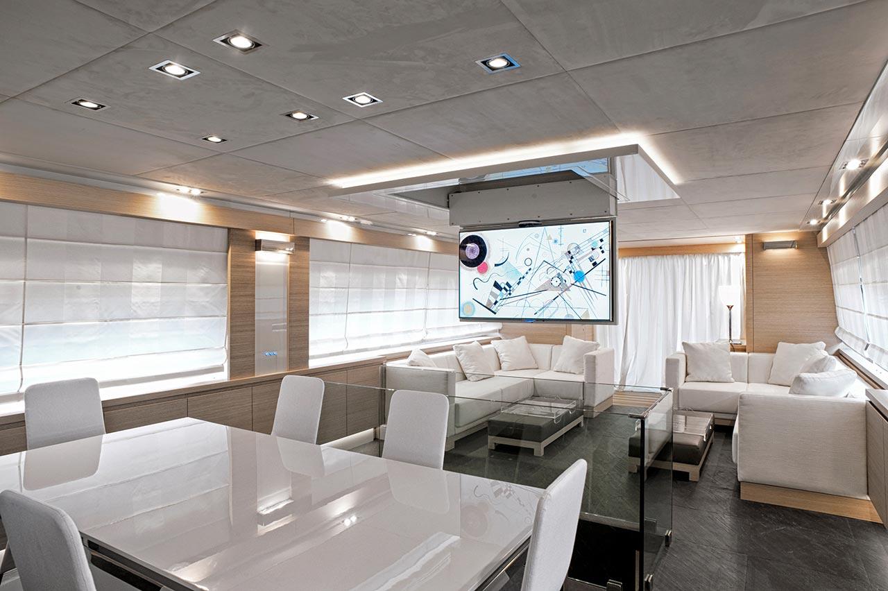 Amer Yacht, Amer 92, Amer-ica SALA-DA-PRANZO-4-DINING-ROOM-41