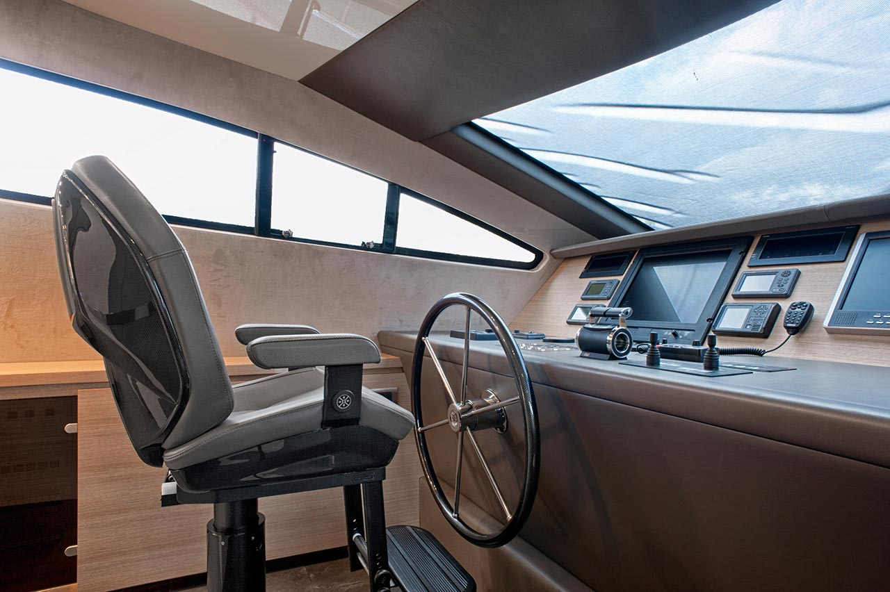 Amer Yacht, Amer 92, Amer-ica TIMONERIA-2-WHEELHOUSE-21