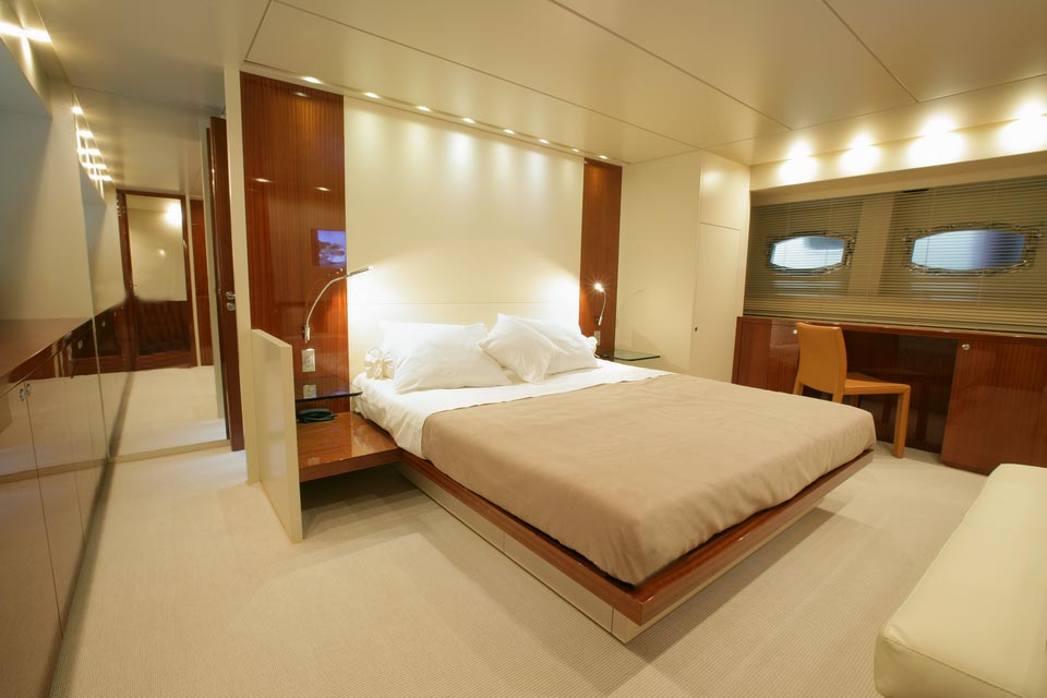 Amer Yacht, Amer 92, Vizantia CABINA-ARMATORE-OWNER-CABIN11