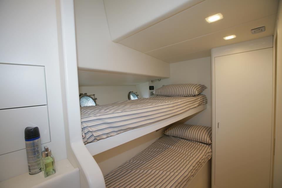 Amer Yacht, Amer 92, Vizantia CABINA-EQUIPAGGIO-DOPPIA-DOUBLE-CREW-CABIN