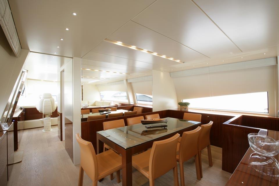 Amer Yacht, Amer 92, Vizantia SALA-DA-PRANZO-2-DINING-ROOM-25
