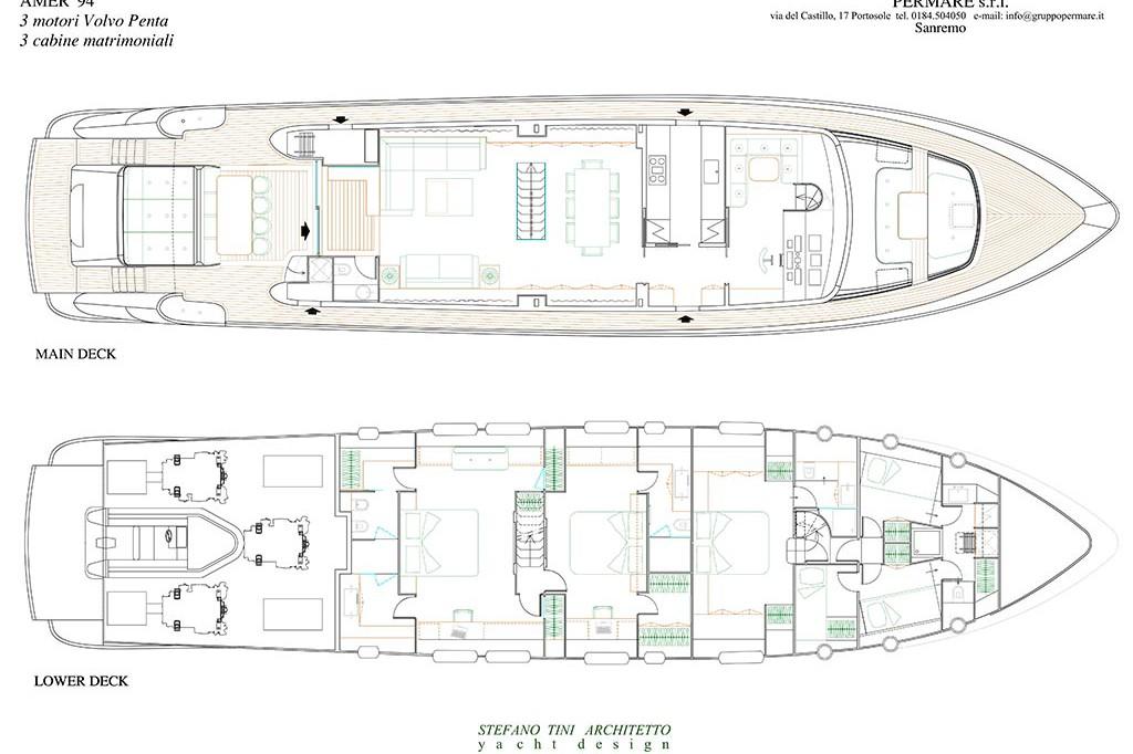 Amer Yacht - Amer 94 94-3-cabine-1024-1024x682