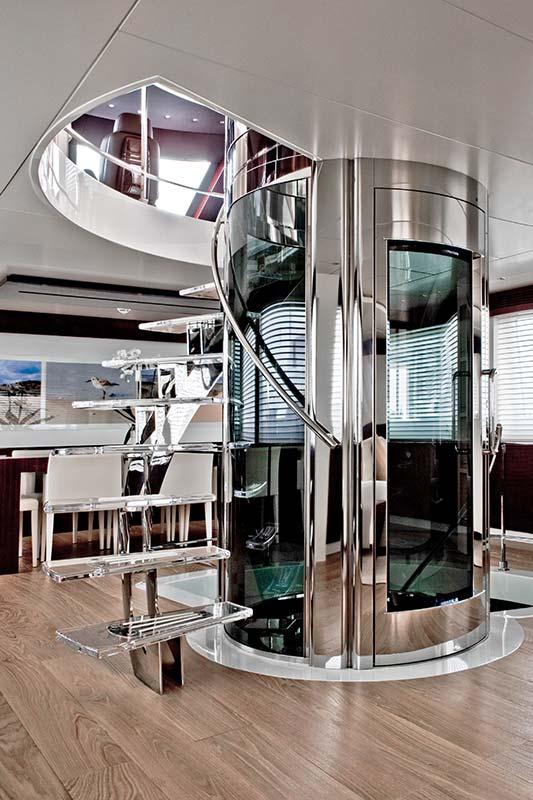 Amer Yachts - Amer 116 ASCENSORE-2-ELEVATOR-2
