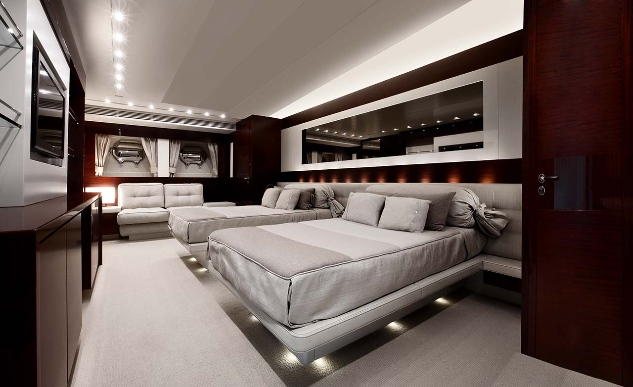 Amer Yachts - Amer 116 CABINA-OSPITI-DOPPIA-DOUBLE-GUEST-CABIN