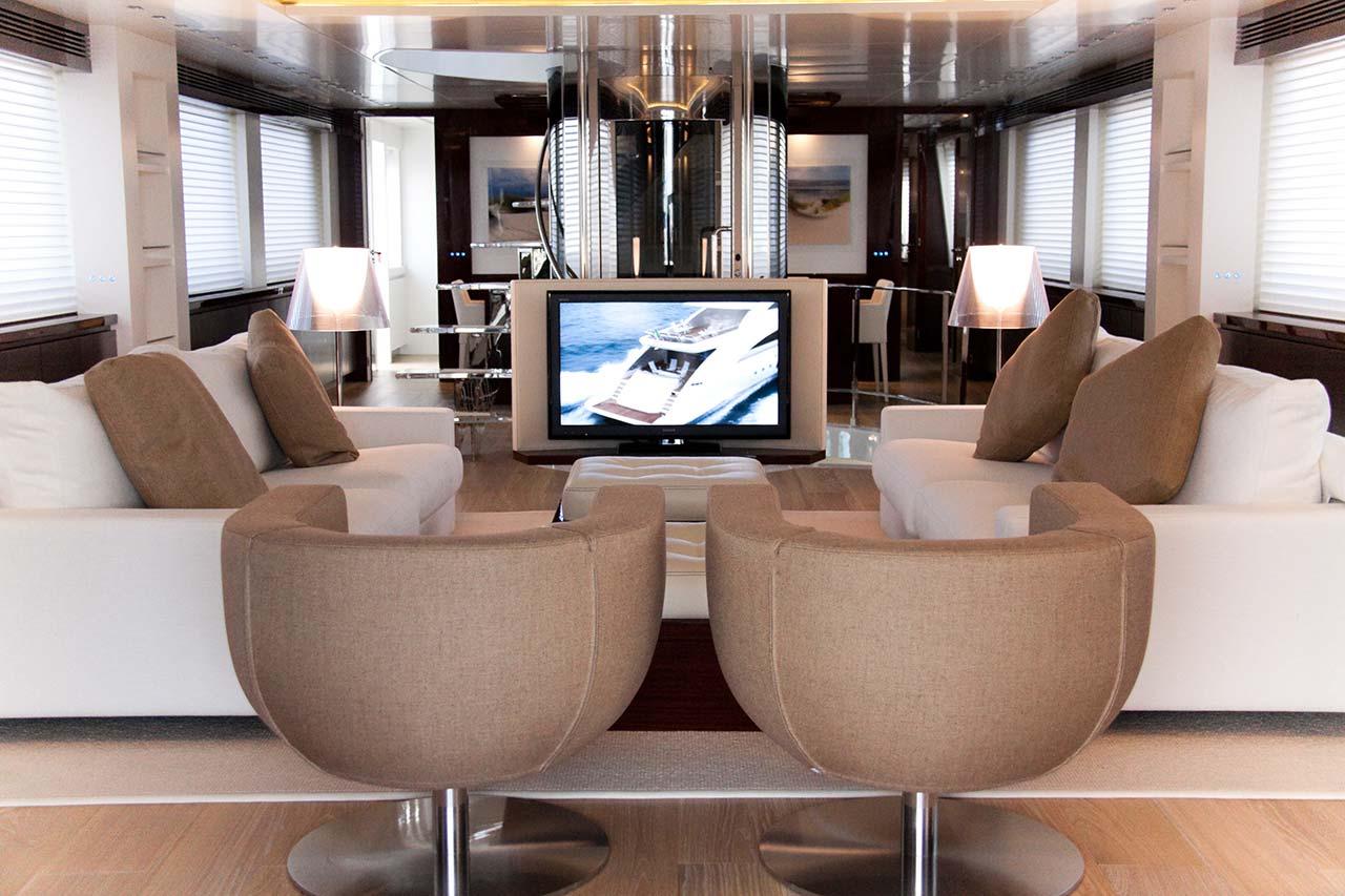 Amer Yachts - Amer 116 SALONE-SITTING-ROOM