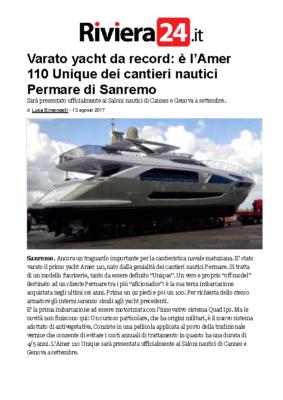 2017 08 – Amer 110 – Launch – Riviera24 – IT