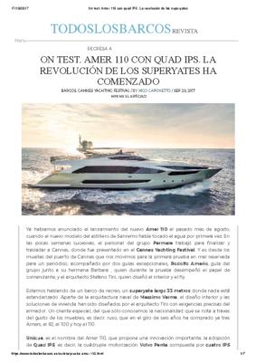 2017 10 – Amer 110 – Todos barcos – ES